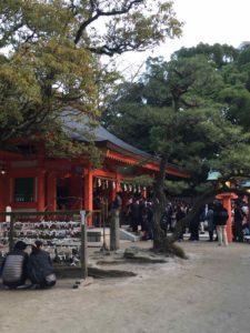 住吉神社初詣2016